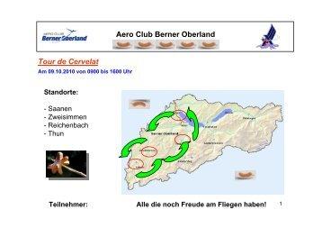 Tour de Cervelat Aero Club Berner Oberland - Thun-Airfield