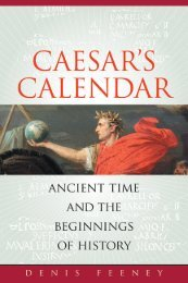 Caesar's Calendar: Ancient Time and the ... - Above Top Secret