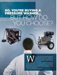 So You're Buying a Pressure Washer & But How Do ... - Cleaner Times