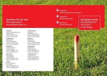 Broschüre herunterladen - Sparkassen Immobilien Freiburg