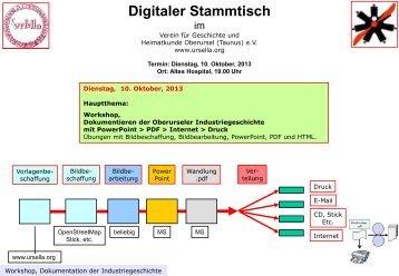 Digitaler Stammtisch - Verein für Geschichte und Heimatkunde ...