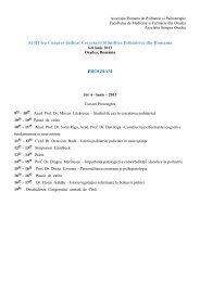 Download ca PDF - Facultatea de Medicina si Farmacie Oradea