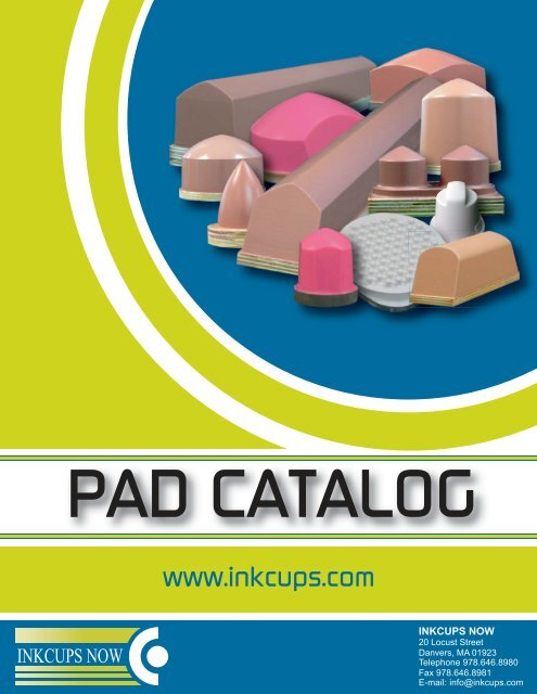 Pad Catalog - Inkcups Now