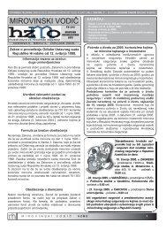 MIROVINSKI VODIČ - Hrvatski zavod za mirovinsko osiguranje