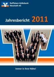 Jahresbericht 2011 - Raiffeisen-Volksbank Neustadt eG