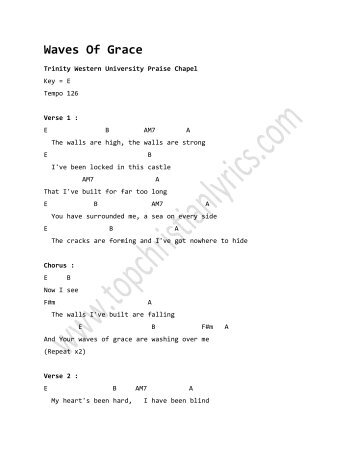 Bind Us Together Chords Christian Lyrics