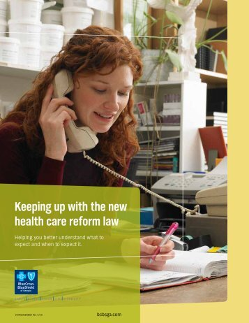 Keeping up with the new health care reform law - Making Health ...