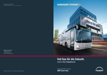 Lion's City Erdgasbusse - MAN Truck & Bus Schweiz AG