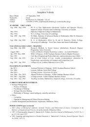 CV Seraphim - Academic 201104 - ALBA Graduate Business School