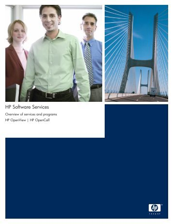 HP Software Services Overview of services and prgrams HP ...
