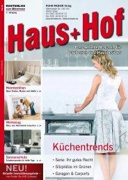 Küchentrends - RUHR MEDIEN Werbeagentur