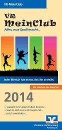 Programmheft 2014 zum Download (PDF) - Raiffeisenbank Amberg ...