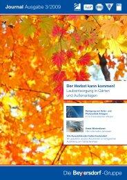 Journal Ausgabe 3/2009 - Beyersdorf