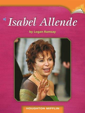 Lesson 18:Isabel Allende