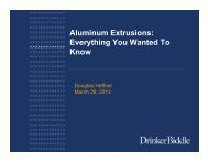 Aluminum Extrusions: Everything You Wanted To Know