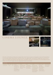 Cinema Lounge:Layout 1 - München Locations