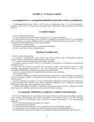 94/2002. (V. 5.) Korm. rendelet a csomagolásról és a csomagolási ...