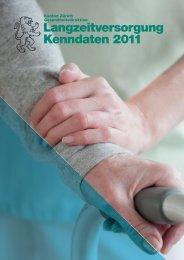 Langzeitversorgung Kenndaten 2011 - Spitex Verband Kt. Zürich