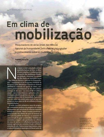 Em clima de - Revista Pesquisa FAPESP