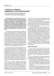 A zöld könyv értékelése: kiigazítások és valós kérdésfelvetések - IME