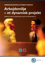 Download vejledningen: Arbejdsmiljøvenlig projektledelse - Ida