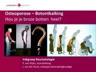 Osteoporose - Jeroen Bosch Ziekenhuis