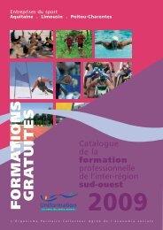 Télécharger le catalogue - CROS de Poitou-Charentes