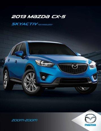 2013 M{zd{ CX-5 - Mazda Canada
