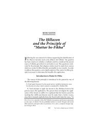 Muttar be-Fikha - YU Torah Online