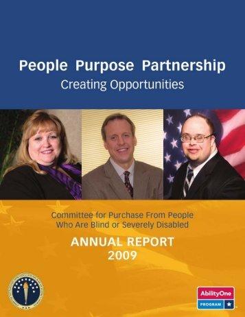 Annual Report (PDF) 2009 - AbilityOne