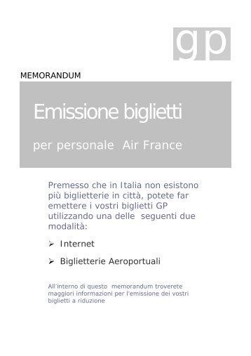 Emissione biglietti - Amicaleaf.it