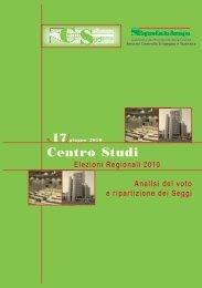 Elezioni Regionali 2010. Analisi del voto e ripartizione ... - Statistica