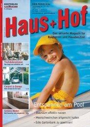 Entspannen am Pool - RUHR MEDIEN Werbeagentur