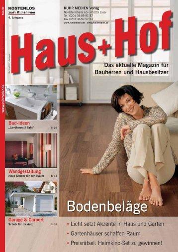 Bodenbeläge - RUHR MEDIEN Werbeagentur