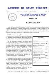 Apuntes de Salud Pública, Vol. I, Nº 14, Julio 1997 - Índice de webs ...