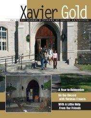 A Year to Remember - Xavier University of Louisiana