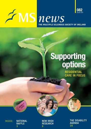 Supporting options - MS Ireland