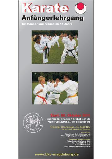 Karate Karate - BKC-Magdeburg