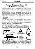 Installations- und Bedienungsanleitung - Seite 4