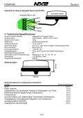 Installations- und Bedienungsanleitung - Seite 6
