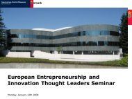 Innovation Center Denmark Silicon Valley - European ...