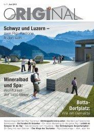 Botta- Dorfplatz: Schwyz und Luzern – Mineralbad ... - rumar+partner