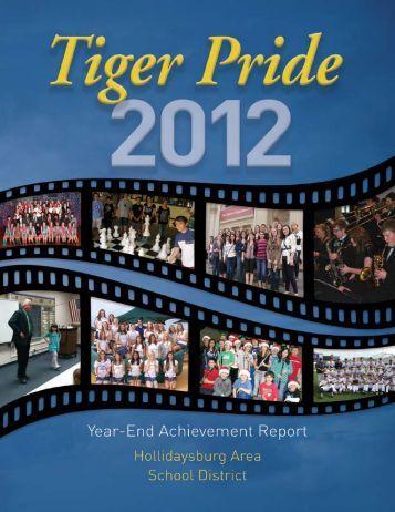 2012 TIGERPRIDE Year-end Achievement Report - Hollidaysburg ...