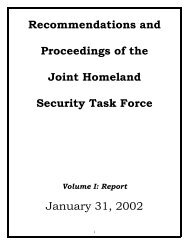 Joint Homeland Security Task Force - Final Report - Oklahoma ...
