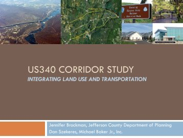 US-340 Corridor Study - West Virginia Department of Transportation