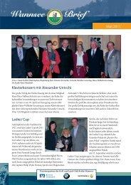 Wannsee Brief Mai 2011 - Der Golf- und Land-Club Berlin-Wannsee ...