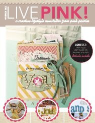 a creative lifestyle newsletter from pink paislee