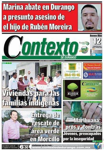 12/08/2013 - Contexto de Durango