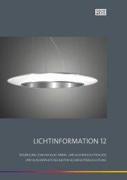 Lichtinformation 12 - RZB Leuchten