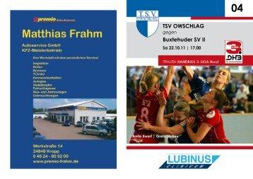2011 12 Hh INT 4. - TSV Owschlag
